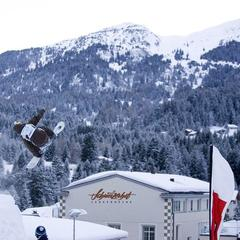 The largest hamam in the Alps is based in Hotel Schweizerhof in Lenzerheide