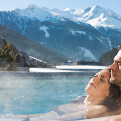 Samen genieten in de thermen in Bad Gastein
