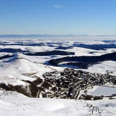 Point neige dans le Massif Central (14/03/2013)