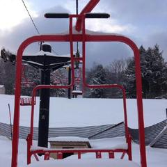 Magic Mountain's famed Red Chair gives an indication of how good it is on top of the mountain.