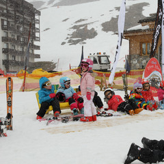 Fun for the family during the Winter Family Jam in Tignes