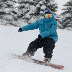 Seven Springs received over 50 inches of snow in March. Photo taken March 24, 2013. Courtesy of Seven Springs Resort.