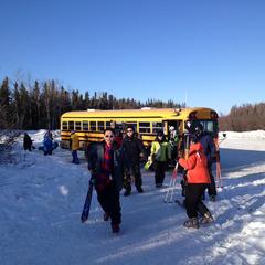 In Moose Mountain, Alaska bringt euch der Bus nach jeder Abfahrt wieder hinauf - ©Roger Evans