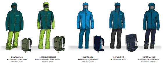ed57c2a4a29 collection Patagonia Backcountry Touring hommes