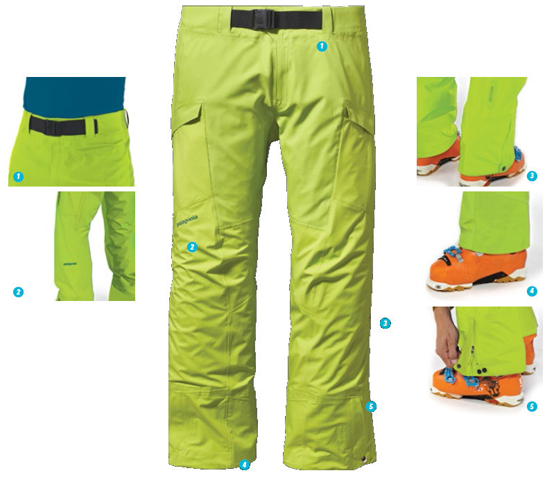 28ba833005b Pantalon Patagonia Backcountry Touring