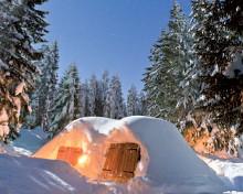 Séjour en igloo à Pralognan la Vanoise
