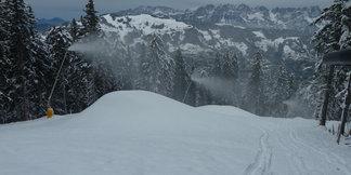 Raport śniegowy: śniegu wciąż mało, mimo to dużo ośrodków otwiera sezon ©SkiWelt Wilder Kaiser Brixental