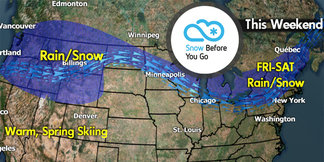 Snow Before You Go: Significant Warm Before the Storm ©Meteorologist Chris Tomer