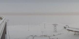 23 września 2015: pierwszy podmuch zimy w Alpach ©Facebook Laax