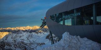 Weerbericht: geen witte kerst. ©Pitztaler Gletscherbahn