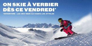 On skie à Verbier dès vendredi 27 novembre ©Téléverbier