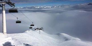 Weerbericht: warm weekend, verse sneeuw op komst. ©Ischgl facebook