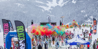 CP - Skicolor, an amazing event on the Les Gets' slopes! ©Les Gets Service Presse