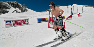 Ski d'été en France ©Andy Parant