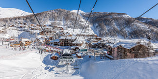 Neige et soleil, le duo gagnant des stations de ski des Alpes de Haute-Provence ©Office de tourisme du Val d'Allos / R. Palomba