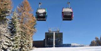 Skiarea Alpe Lusia/San Pellegrino: 60 km di piste aperte! ©Alpelusiasanpellegrino.it