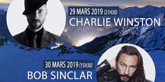 Charlie Winston et Bob Sinclar en concert pour le trophée Serre Chevalier