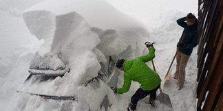 Snowmagedon w Alpach: 3 metry śniegu spadło w tydzień [galeria] ©Facebook / Thomas Leitner aus Mühlbach am Hochkönig
