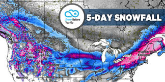 Best Week of the Season With Heavy Snow at Dozens of Ski Resorts: 1.17 Snow B4U Go ©Meteorologist Chris Tomer