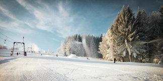 Január 2020 na českých horách - © facebook | Skiareál Kamenec - Snowhill