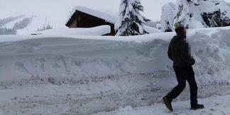 Italien: Ein Wochenende des Schnees (23./24.11.) - © Comune di Sestriere Facebook