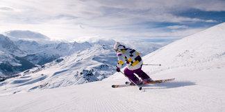 Grootste skigebieden van Frankrijk ©Meribel Tourism