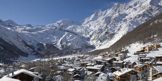 Snowiest ski resort of the week ©Saas-Fee Tourism