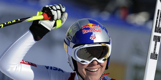 Cortina : Lindsey Vonn retrouve le sourire ©Agence Zoom