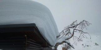 Un metro de nieve nueva en los Alpes franceses ©La Plagne