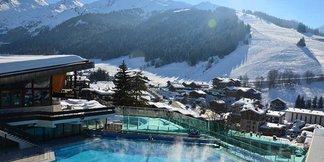 Après le ski : détente dans les espaces aquatiques ©Thierry Milherou / La Clusaz