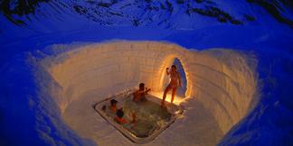 Śnieżne apartamenty: igloo, hi-tech namiot albo lodowy hotel ©Iglu Dorf GMBH