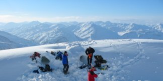 Sleeping on snow: Igloos, tents & ice hotels ©Mountain and Sea Guides