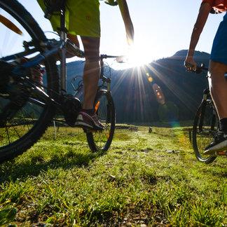 Radfahrer in Obertauern - ©Obertauern