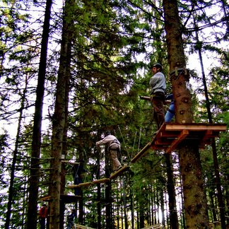 Kletterwald in Freyung-Grafenau - ©Landkreis Freyung-Grafenau