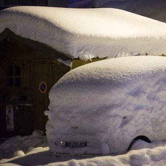 21 nov 2015 : Arrivée de la neige et du froid - © Val Thorens