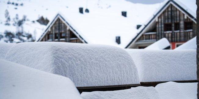 Fresh snow in the Alps November 2019 - © Prato Nevoso Ski Facebook