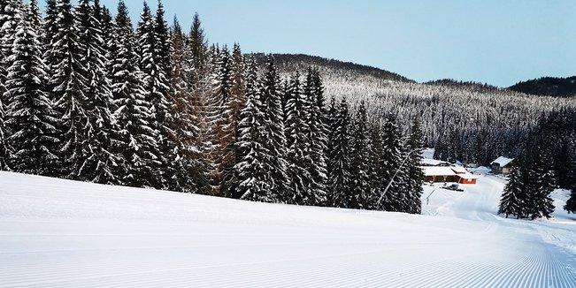 Novoročná slovenská lyžovačka - © facebook | Orava Snow - Oravská Lesná / ©Vierka Mladenová