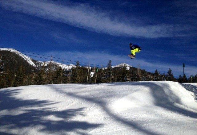 amazing day at snowbowl!