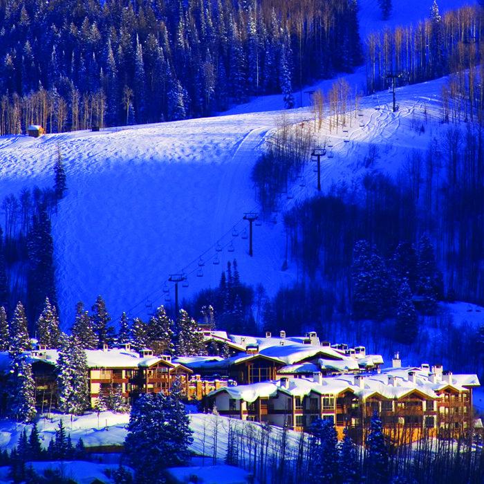 The Stein Eriksen Lodge in Utah.
