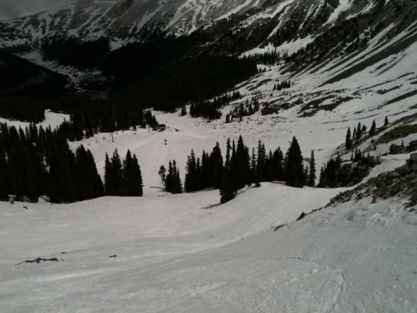 Bottom of Falcon on Saturday.