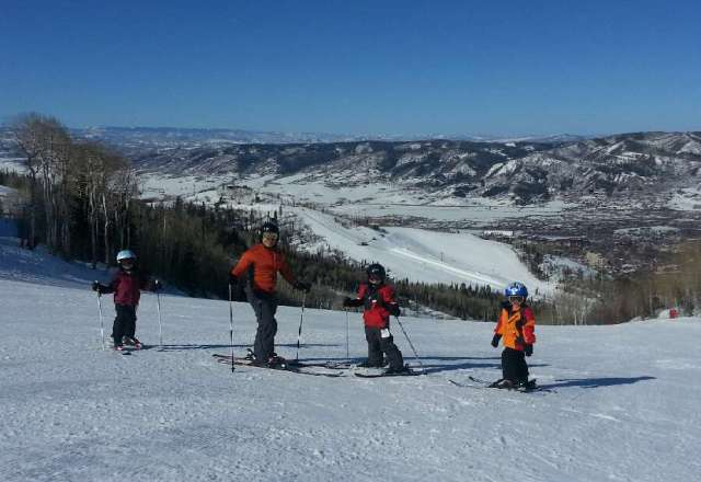 Great spring skiing conditions! Snow softens by mid-morning.