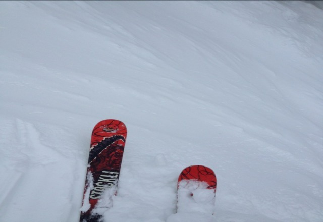 awesome snow up here!!