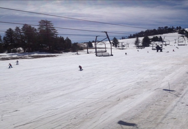 Good day on the snow. season is over after today!!! cant wait till december