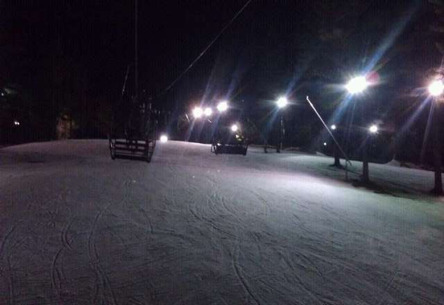 Skiied min night snow was great!!!