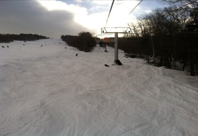 awesome skiing today