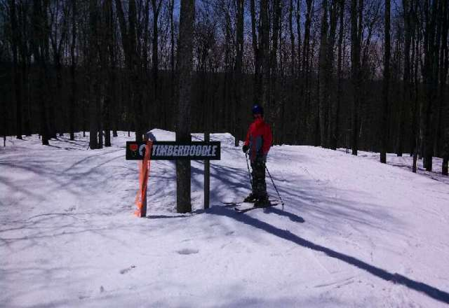 Great conditions, especially for April!  A little icey in the AM, but plenty of base remains.