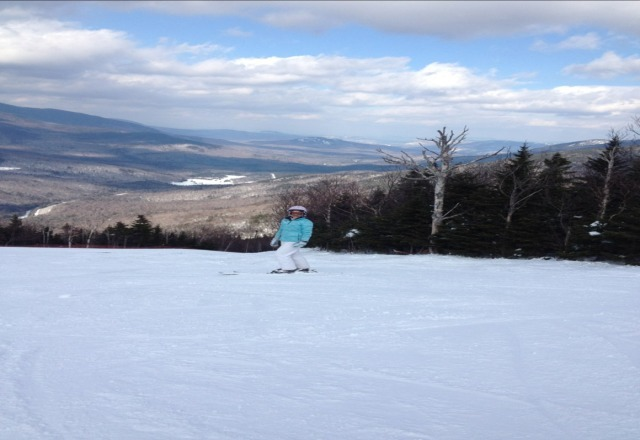 our first time at wildcat yesterday didn't dissapoint...great skiing and the most amazing views i have ever seen