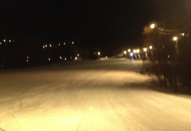 went 2 days ago. short lines if you know where to go;) icy at night. heres granite at 230@m got afew lil runs in