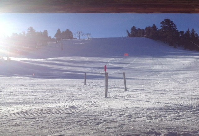 Great day on the mountain Sunday! No lines, no crowd.