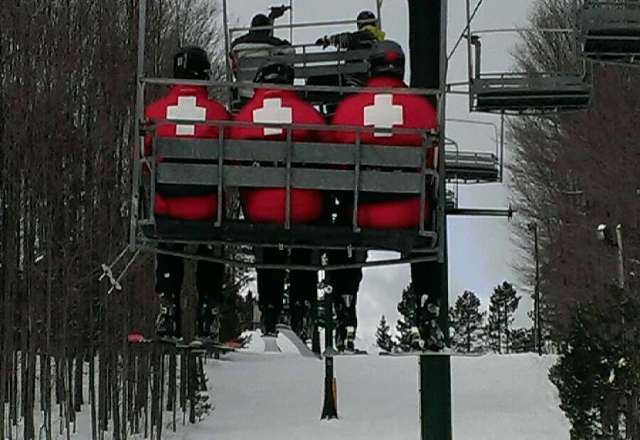 What a great day of skiing. Ski Patrol are just some awesome people. You gotta love KB.